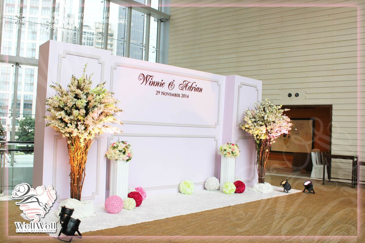 婚禮佈置 well well event decoration